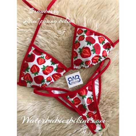 Strawberry Jam- Posing Bikinis