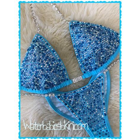 Lucky Streak 3 Color Crystal- Competition Bikini