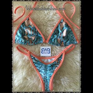 Copper Cobra Posing Bikinis