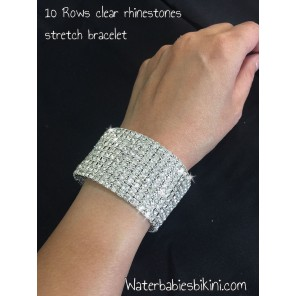 Sparkling Crystal Stretch Bracelet