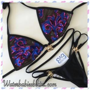 Night Orchid- Pool Bikinis