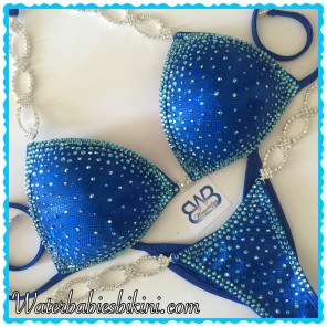 Queen B Color Crystals- Competition Bikini