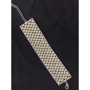 1 inch Clasp SIlver Bracelet